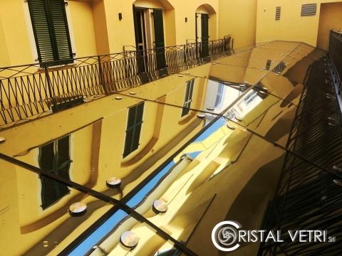 COPERTURE IN VETRO SPIDERGLASS -HOTEL MARCONI-